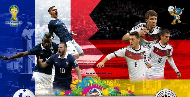 Đức vs Pháp: Gà Gaulois im tiếng gáy