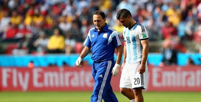 Aguero chia tay giấc mơ World Cup?