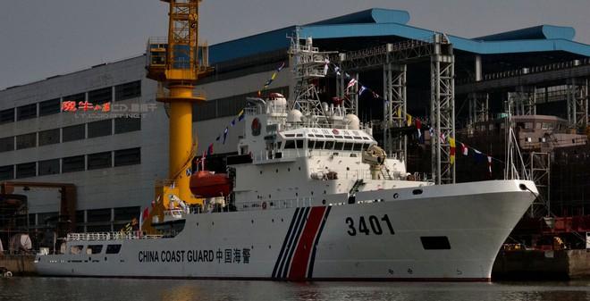 Vạch mặt tàu Hải cảnh cỡ lớn của TQ vừa tấn công tàu Việt Nam