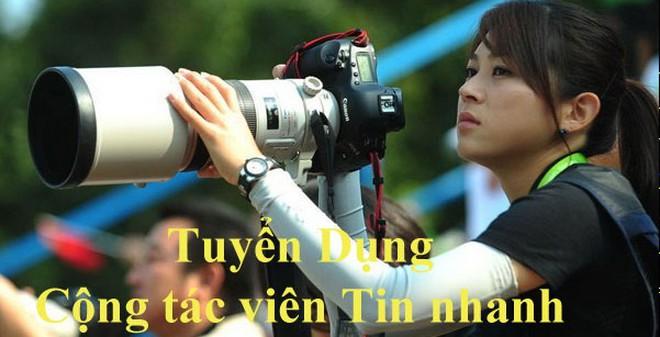 Báo điện tử Trí Thức Trẻ tuyển dụng CTV tin nhanh tại Nghệ An
