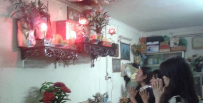 Gia đình tổ chức lễ giỗ đầu chị Lê Thị Thanh Huyền