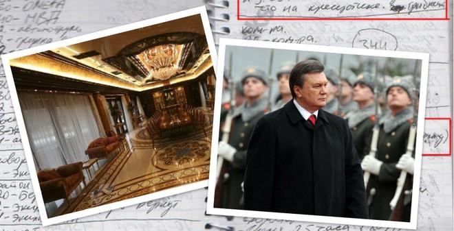 Tiết lộ khủng khiếp từ cuốn sổ của cận vệ ông Yanukovych