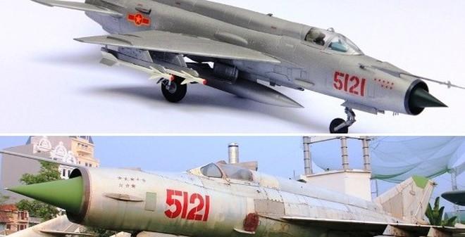 """Bản sao đáng kinh ngạc của """"Bảo vật Quốc gia"""" Việt Nam MiG-21"""