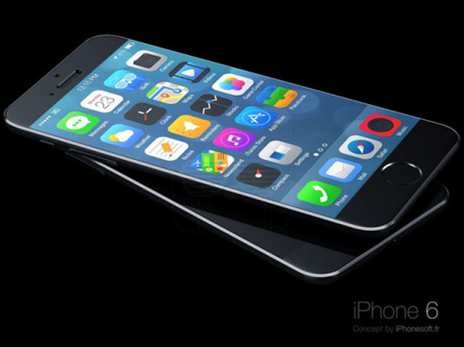 Bản thiết kế iPhone 6, iPhone 6C mang phong cách iPod đẹp mắt