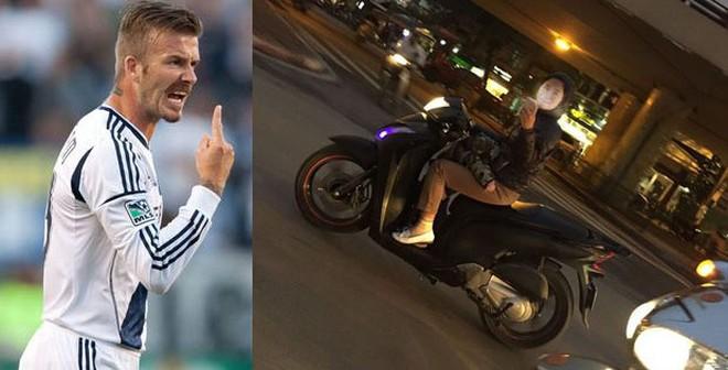 Beckham không thích hành động này của fan Việt!