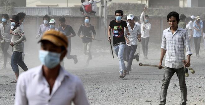 Biểu tình Campuchia: Tâm lý chống người Việt ngày càng tăng