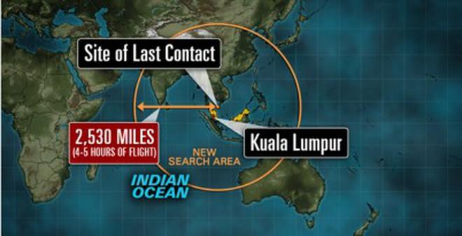 Máy bay mất tích có thể đã đi vào khu vực bất ổn nhất thế giới