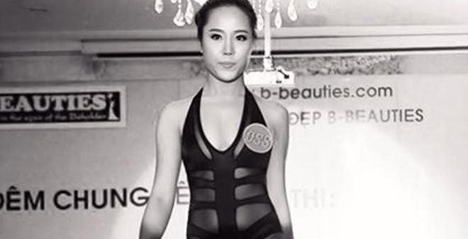 Dung nhan bị chê xấu của thí sinh đoạt giải Nữ hoàng sắc đẹp VN