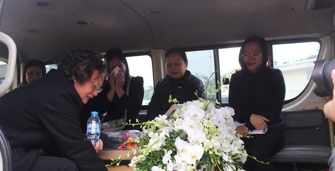 Mẹ nạn nhân vụ MH17 ngất lịm đón thi hài con, cháu về quê hương