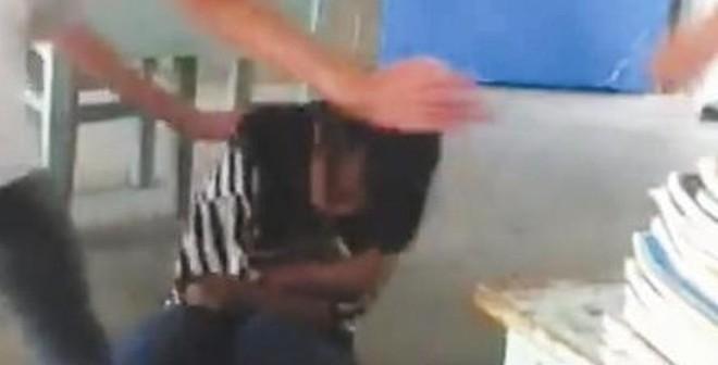 Video đám đông hò reo ủng hộ đánh nữ sinh gây phẫn nộ