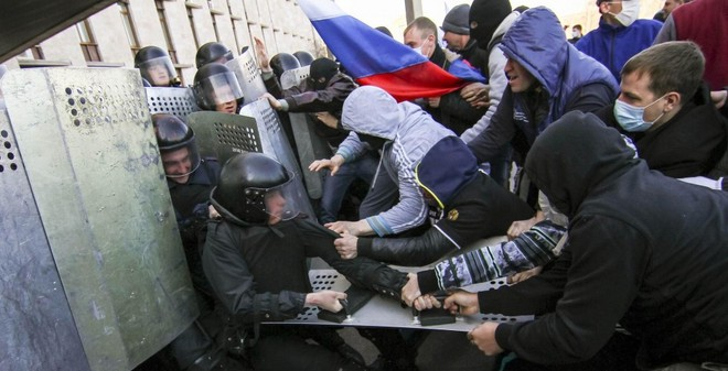 Ukraine: Tiếp sau Donetsk, người Kharkov cũng tuyên bố 'độc lập'