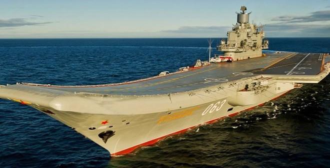 Để cân bằng lực lượng với Mỹ, Nga cần bao nhiêu tàu sân bay?