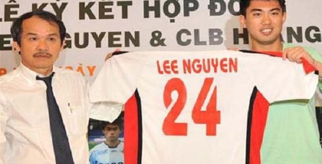 Lee Nguyễn vẫn choáng với độ chịu chơi của bầu Đức
