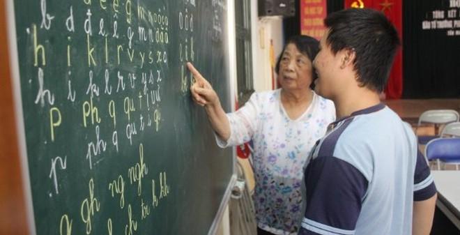 Hà Nội: Bà giáo 70 tuổi hơn 20 năm đứng lớp tình nguyện