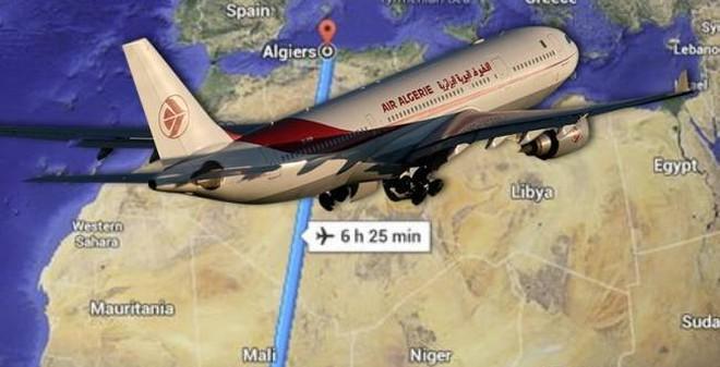 Nhiều nhân chứng thấy máy bay Algeria bị sét đánh