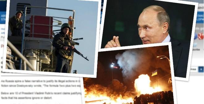 Tuyên bố 'rất lạ' của chính phủ Mỹ về Putin và Ukraine