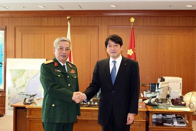 Thượng tướng Nguyễn Chí Vịnh cảm ơn Nhật Bản ủng hộ về Biển Đông