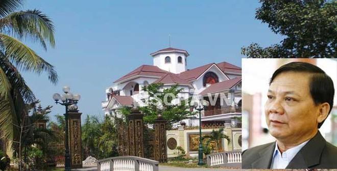 Biệt thự ông Truyền và ngôi nhà 51m2 của Chủ tịch Trương Tấn Sang
