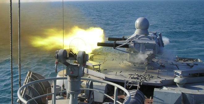 Xem hệ thống phòng không Kashtan/Palma tiêu diệt mục tiêu