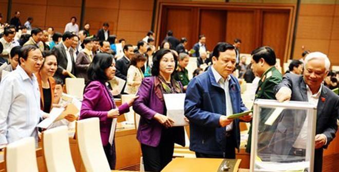 Quốc hội công bố kết quả lấy phiếu tín nhiệm 50 chức danh