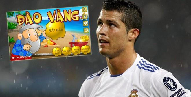 Cris Ronaldo còn thua kém cả... game điện thoại!