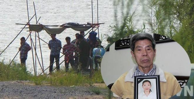 Thi thể vừa được phát hiện tại sông Hồng không hề bị đổ bê tông