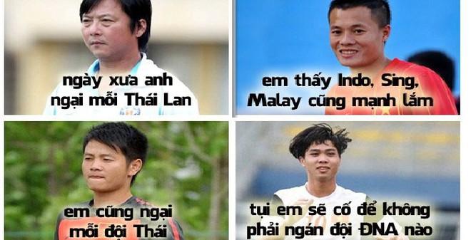 """Công Phượng hứa với đàn anh sẽ cùng Việt Nam """"cân"""" cả Đông Nam Á"""