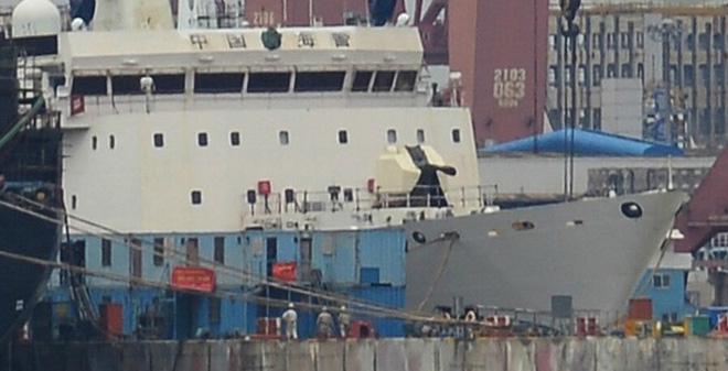 CẢNH GIÁC: Trung Quốc đã lắp đặt pháo lớn cho tàu hải cảnh