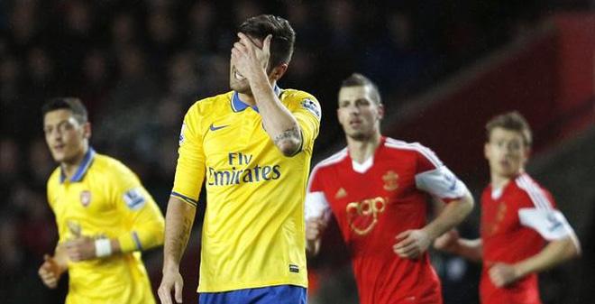 Southampton vs Arsenal, 22h00 ngày 01/01: Pháo xịt