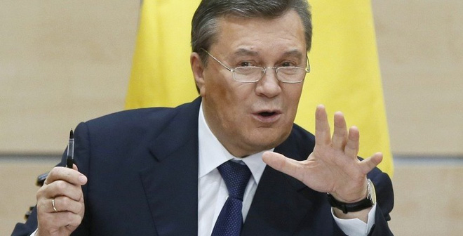 """Chưa thể về Ukraine, Yanukovych đã tính """"làm cách mạng"""" ở quê nhà"""