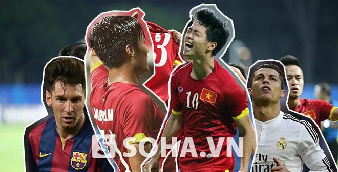 """Tiết lộ: Miura đã """"cài cắm"""" Ronaldo – Messi vào U23 Việt Nam"""