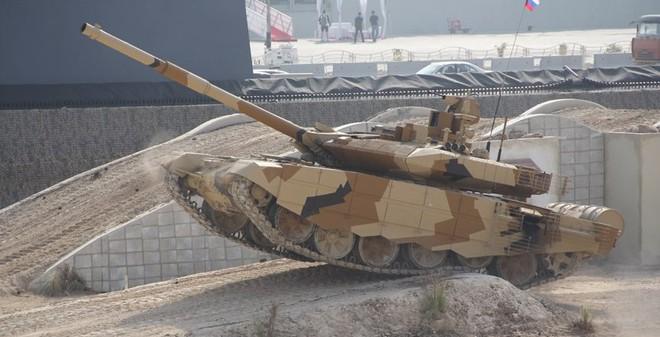 [VIDEO] Siêu tăng T-90MS đối đầu thử thách sa mạc