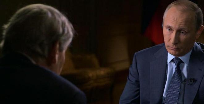 Trên truyền hình Mỹ, Putin thừa nhận mục đích của Nga ở Syria