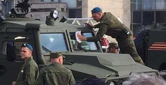 Những hình ảnh thú vị bên lề lễ duyệt binh Ngày Chiến thắng Phát xít