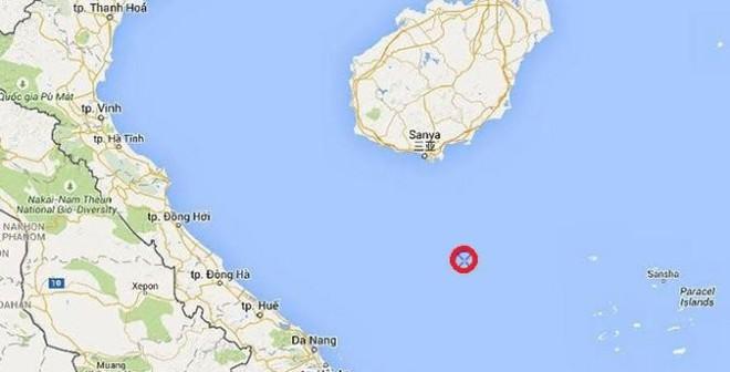 Giàn khoan Hải Dương 981 thăm dò dầu khí phía tây bắc Hoàng Sa