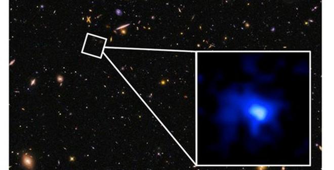 """Phát hiện thiên hà màu xanh """"già"""" nhất trong vũ trụ"""