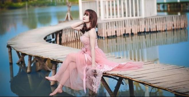Bộ ảnh đẹp long lanh của hoa khôi wushu Mai Phương