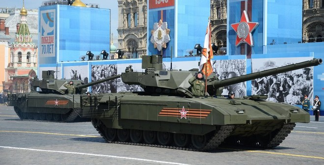 Nga: Xe tăng Armata sẽ khiến các nước xếp hàng để mua