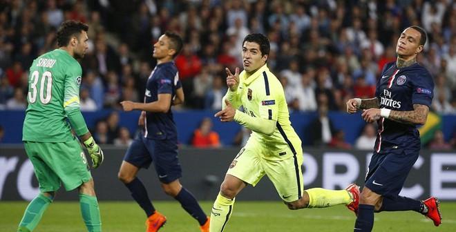 PSG 1-3 Barca: Khác biệt ở Suarez