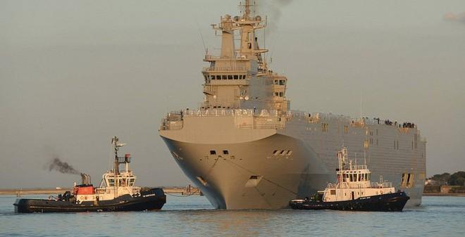 """Báo Nga: Đánh chìm tàu Mistral chẳng khác nào """"sát nhân""""!"""
