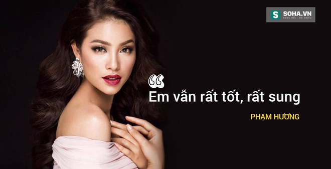 Tin nhắn của Phạm Hương từ Las Vegas: Em rất sung!