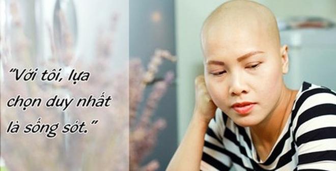 Tâm sự của mẹ trẻ đơn thân mắc ung thư 'gây sốt'