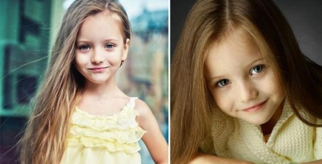 Ngất ngây với vẻ đẹp của mẫu nhí 8 tuổi xinh như thiên thần