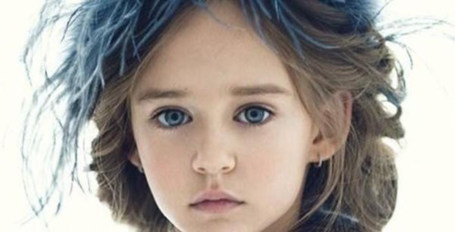 Vẻ đẹp cuốn hút của mẫu nhí 9 tuổi xứ Bạch dương