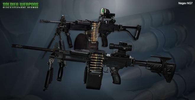 IWI NG7-Súng máy 7,62 mm NATO của đội tuyển bắn súng quân dụng VN