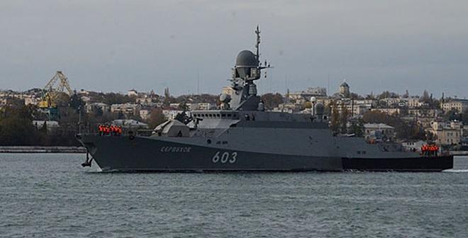 HĐ Biển Đen nhận tàu chiến bắn tên lửa Kalibr giữa tình hình nóng