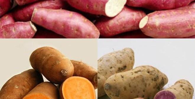 Những lợi ích tuyệt vời của khoai lang