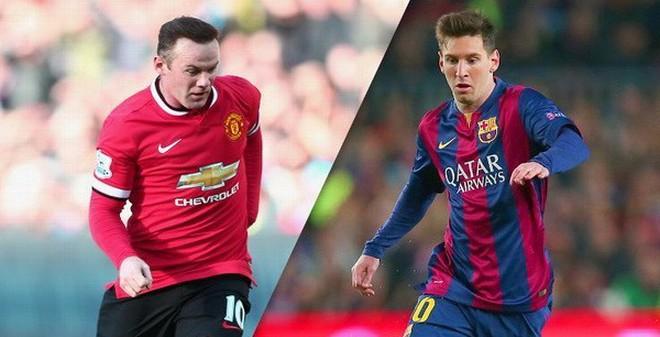 Messi và Rooney thường suy tính những gì khi thi đấu?