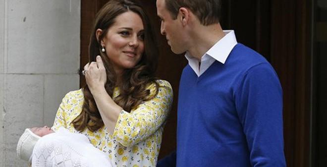 Cận cảnh công chúa bé xinh đẹp của Hoàng gia Anh