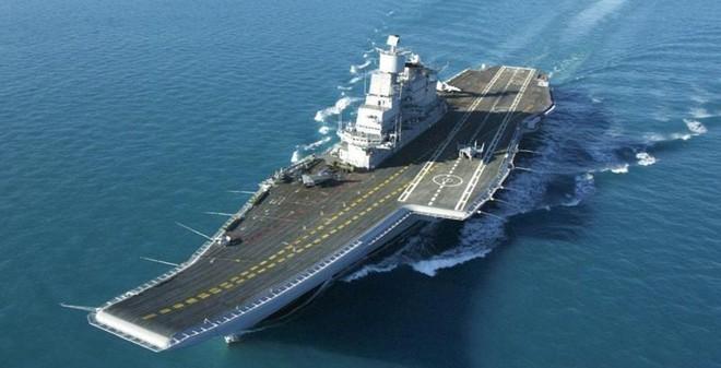 Đọ sức mạnh hàng không mẫu hạm Trung Quốc với Mỹ, Nga